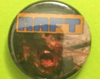 "The Raft Creepshow 2 pinback 1"" button"