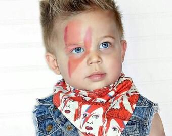 David Bowie Reversible Bib