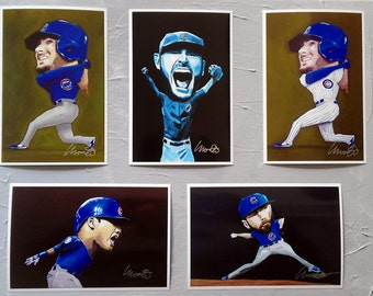 SALE! Chicago Cubs 5 PRINTS Value Pack World Series 2016