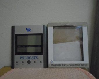 Collegiate U.K, Wildcats Digital Clock / New In Box