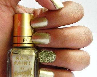 Nails Art Gold or Silver Beads Metallic Nail Art Caviar Beads Studs