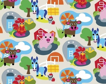 Animal Farm by French Bull for Windham -- 1/2 yd