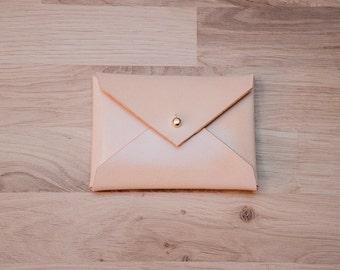 Leather Card Holder, Card Holder, Envelope Card Holder, Leather Card Holder, Leather Business Card Holder, gift idea