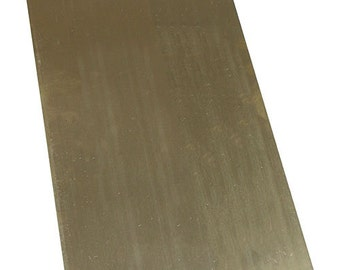 "Red Brass Sheet 22ga 6"" x 12"" 0.64mm Thick  (BS22)"