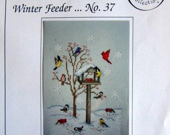 WINTER FEEDER Counted Cross Stitch Pattern