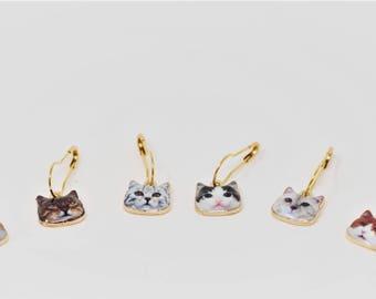 New Cat-tastic Locking Stitch Markers - Set of 6