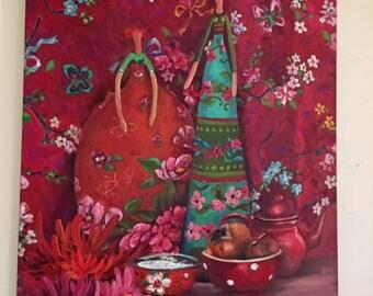Odile Bailloeul painting (original)
