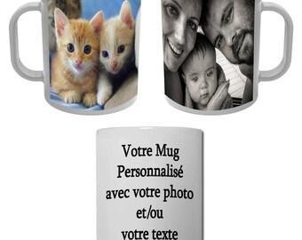 Mug Cup with Photo or custom text