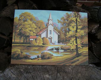 Country Dance Paint By Number by Craft House 1995