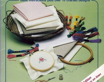 First Steps in Counted Cross Stitch leaflet