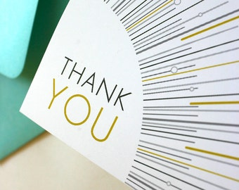 Go Lightly Thank You Cards - Set of 25