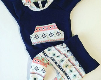 Baby girl outfit / baby clothes /  baby / newborn baby girl / Navy / hospital outfit / girl toddler / new baby / coming home outfit