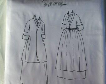 Pattern: 18th Century Manteau de Lit or Bed Gown XXL
