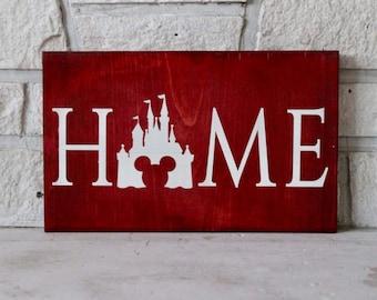 Disney Home Wood Sign