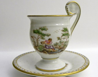 Italian Demi-tasse Cup and Saucer