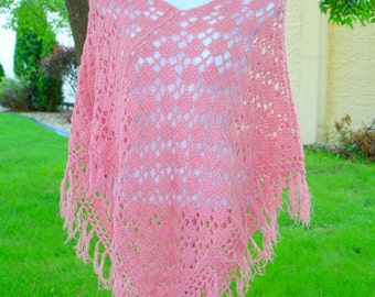 Poncho Crochet Two Rectangle Easy PDF Pattern Is not a finished product. It is a PDF Pattern with the instructions to do it yourself.