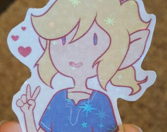Sidon & Link Holographic Stickers