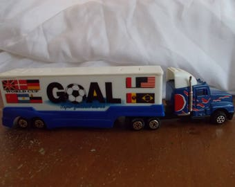 Track collection, Metal  vintage truck,Miniature