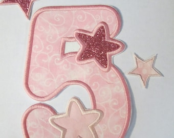 You're A Star Birthday Set - Iron On or Sew On Embroidered Custom Made Applique