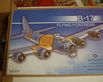 TIN TOY B-17 Airplane- Must see- New in Box