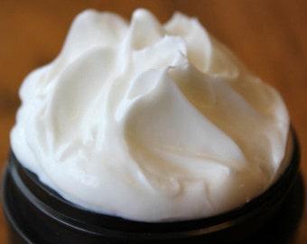 4oz Whipped Body Souffle, 100% Natural Body Butter, Shea & Cocoa Butter, Plumeria, Lavender, Grapefruit, Vanilla, Amber, Lemongrass, Ginger