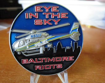 Baltimore Police Department Baltimore Riots * Hold The Line Protect This House* Eye in the Sky #2809