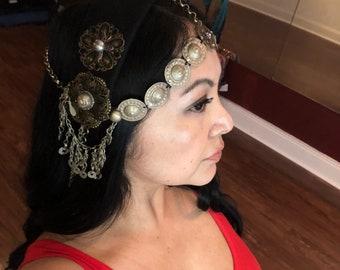 Tribal Belly Dance Sword headpiece/headdress