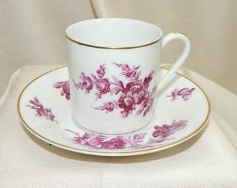 Haviland china cup,Haviland Limoges china cup,Haviland china demitasse cup,Anniversary gift, Birthday gift,Mid Century Haviland China cup