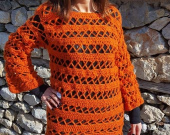 Boho sweater
