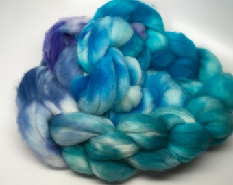 Merino Super Wash  Roving  Hand dyed CIT