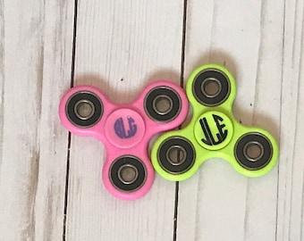Fidget Spinner. Monogram spinners