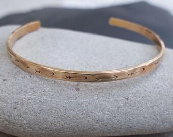 Arrow Bracelet, Hammered Arrow Cuff, Arrow Cuff, Travel Lovers Jewelry, Inspiration Jewelry
