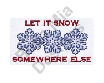 Winter Snowflakes - Machine Embroidery Design