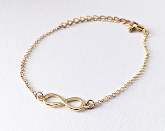 Infinity Bracelet gold - Infinity, Infinity Sign