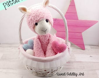 Alpaca Amigurumi Pattern Free : Sweet and odd crochet patterns and dolls by sweetoddityart on etsy