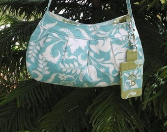 Buttercup Purse Featuring Amy Butler Lark Fabric, Free Shipping
