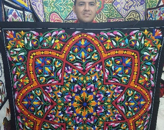 Nabel Kamal, Exquisite! The beautiful Artistry, Detail along with his Egyptian Hand Applique Work-Tentmakers of Cairo.
