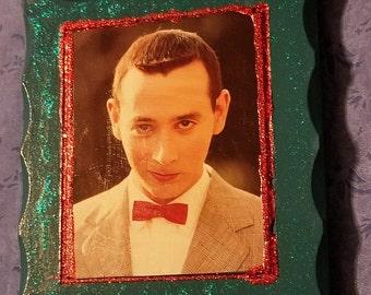 Pee-Wee Herman Wall Plaque