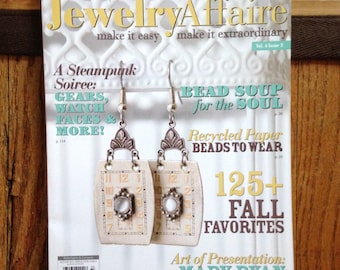 Jewelry Affaire Magazine Autumn 2013 Handmande Jewelry magazine