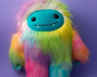 Rainbow Yeti Plush