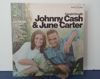 Johnny Cash & June Carter - Carryin' On With Johnny Cash and June Carter - Circa 1967