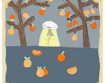 the Orange Tree - PRINT