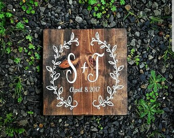 Wedding gift sign, rustic, home decor