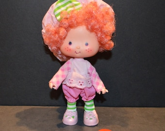 Vintage 1980's Raspberry Tart Doll from the Strawberry Shortcake Collection