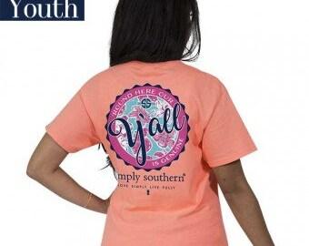Simply Southern® YTH-PREPPYYALL-POPPY