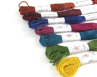 Embroidery Floss Set - 7 Skeins - Sublime Stitching Laurel Canyon