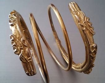 Sarmatian Coil Bangle, Reproduction, 1st - 2nd Century AD