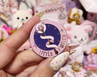 Little Witch Wand - Second Edition - Enamel Pin