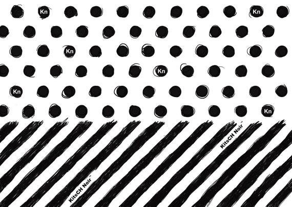 Spots and Stripes Wrapping Paper