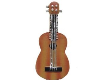 Fairy Garden Dollhouse Miniature Guitar
